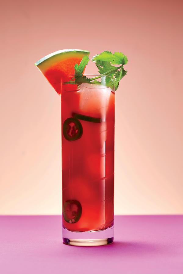 Watermelon-Tomato Cooler