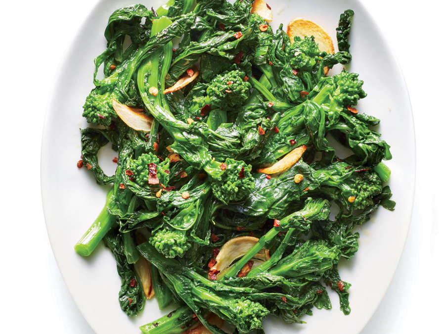 ck-Broccoli Rabe with Anchovy Butter