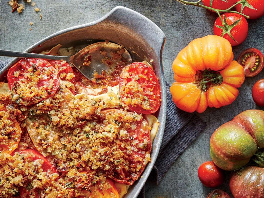 ck-Tomato Gratin Lasagna