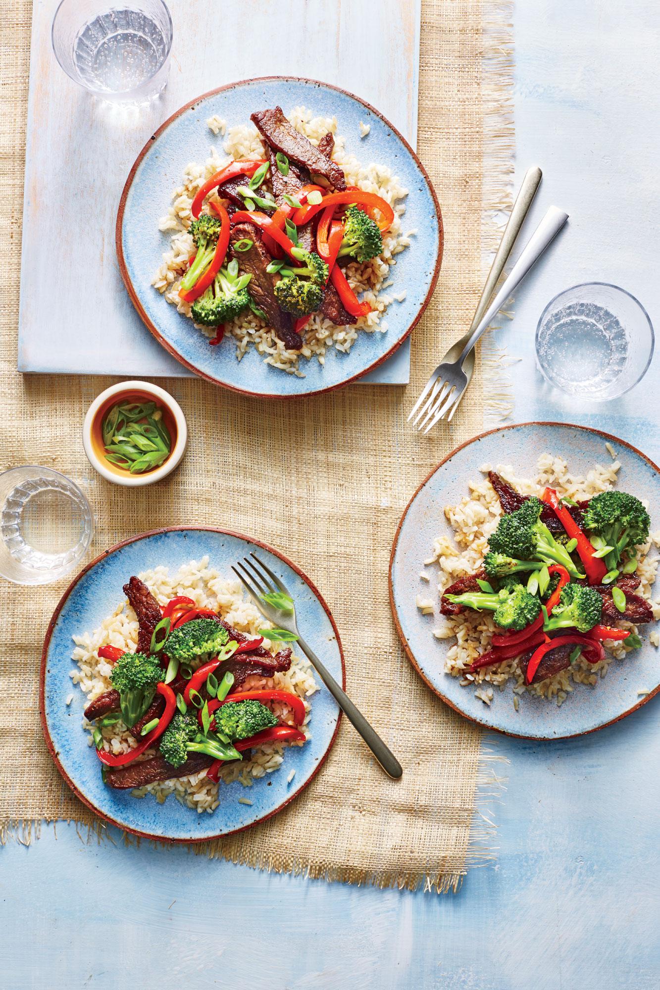 ck- Quick Mongolian Beef Stir-Fry