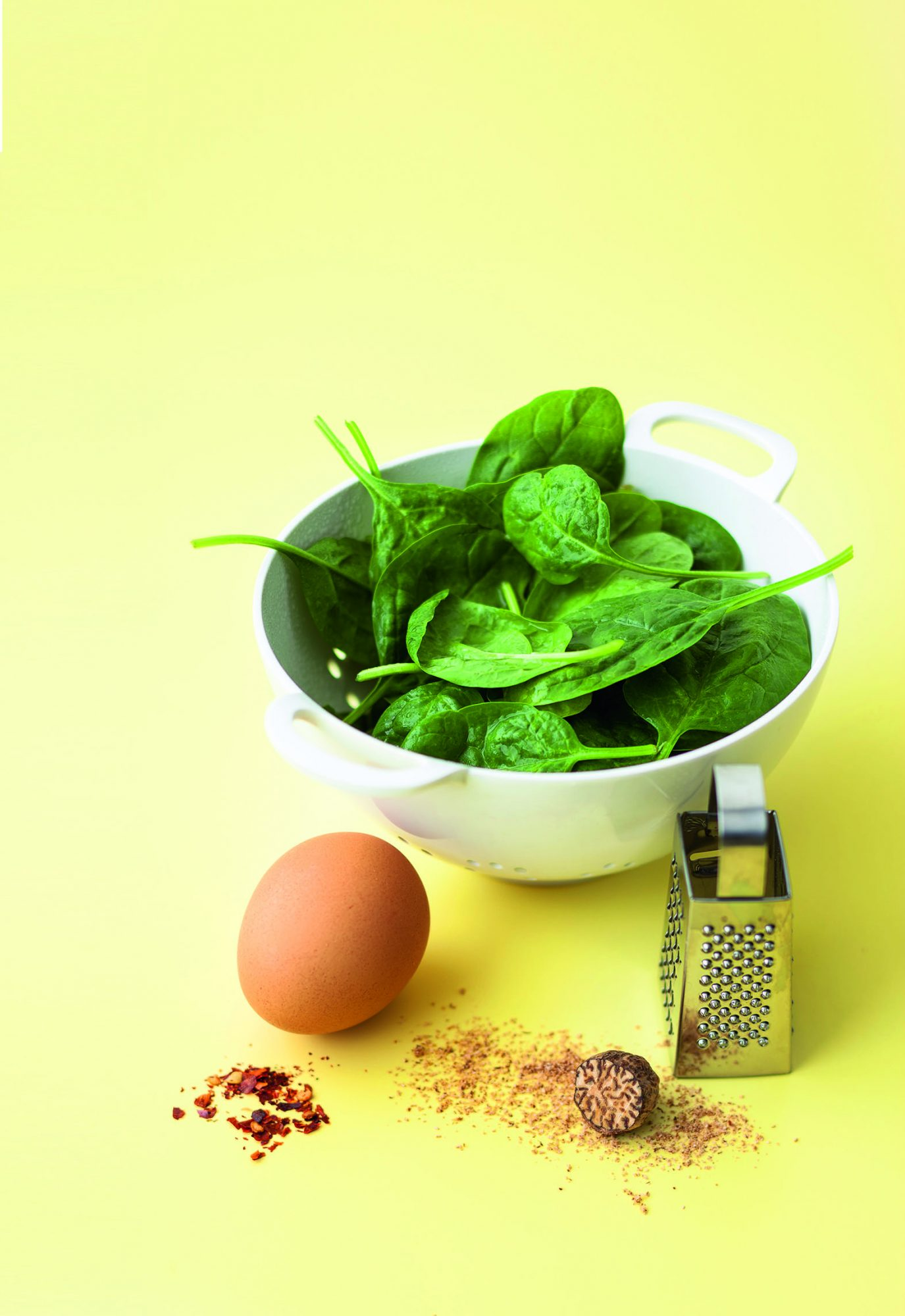 Egg & Spinach