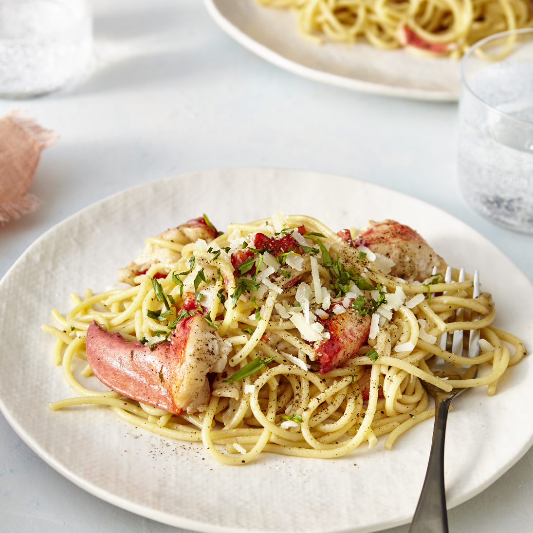 Lobster Cacio e Pepe for Two image