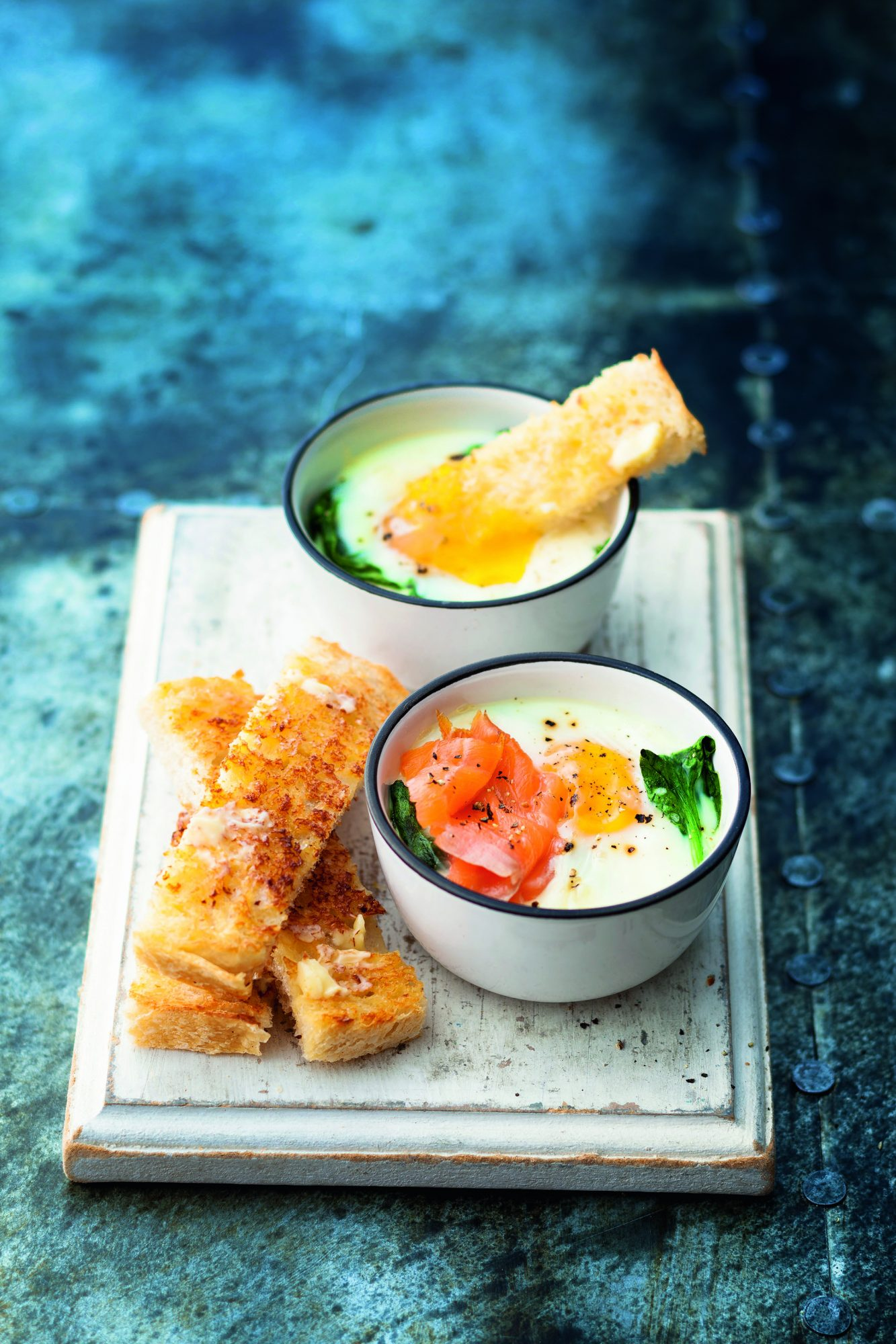 oh- Creamy Poached Egg Pots