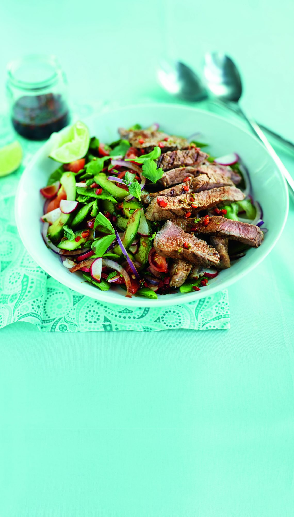 oh- Spicy Steak Salad