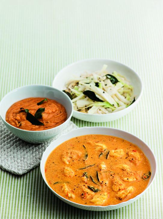 oh- Creamy Cod Curry
