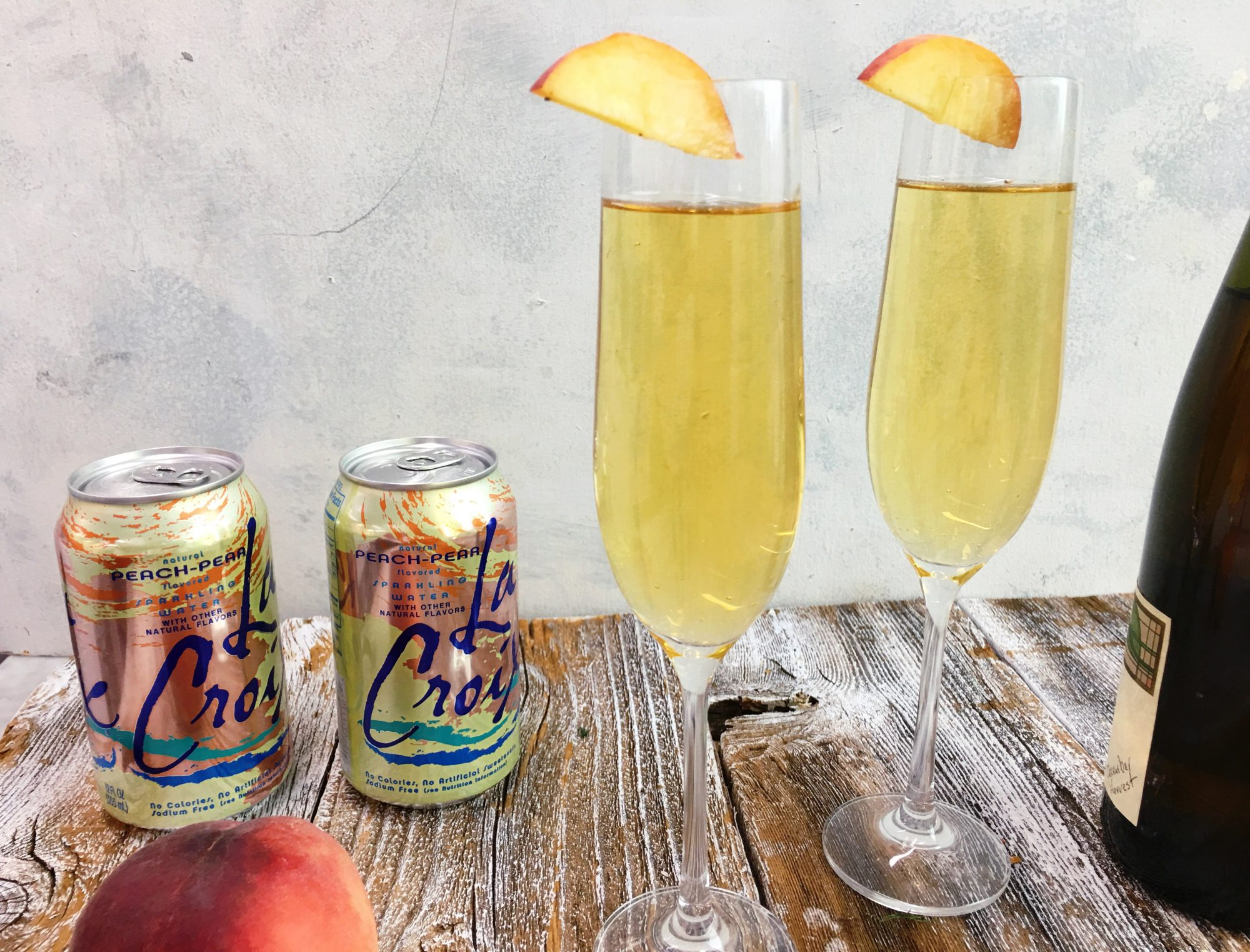 La Croix Backwards Bellini