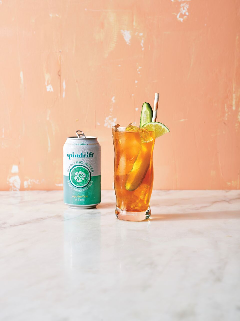cl- Sparkling Pimm's Punch