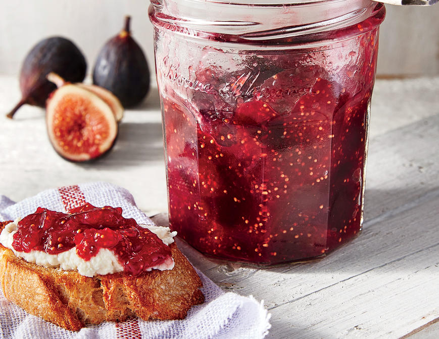 sl-Fig and Lemon Refrigerator Jam