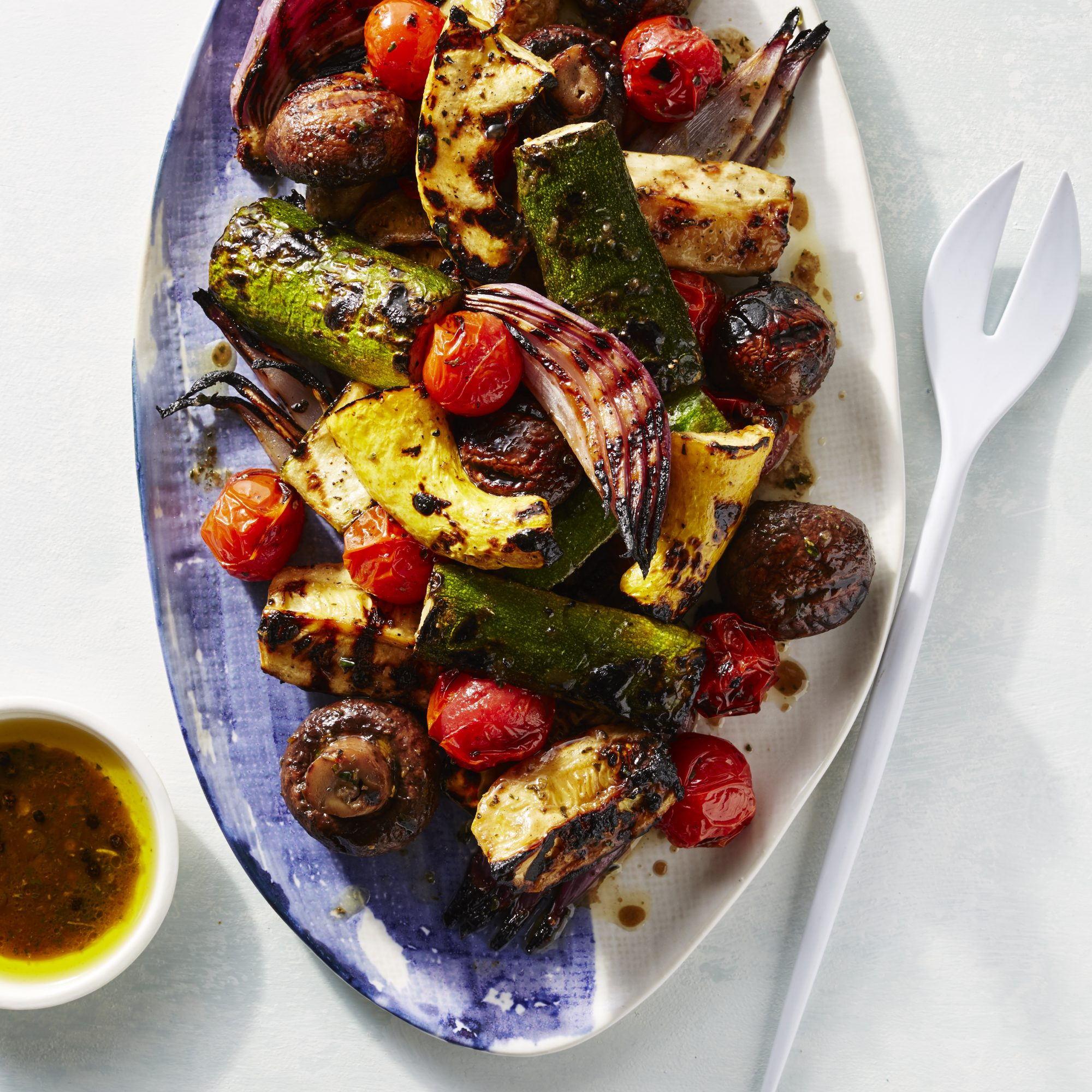 Marinated, Grilled Summer Vegetables