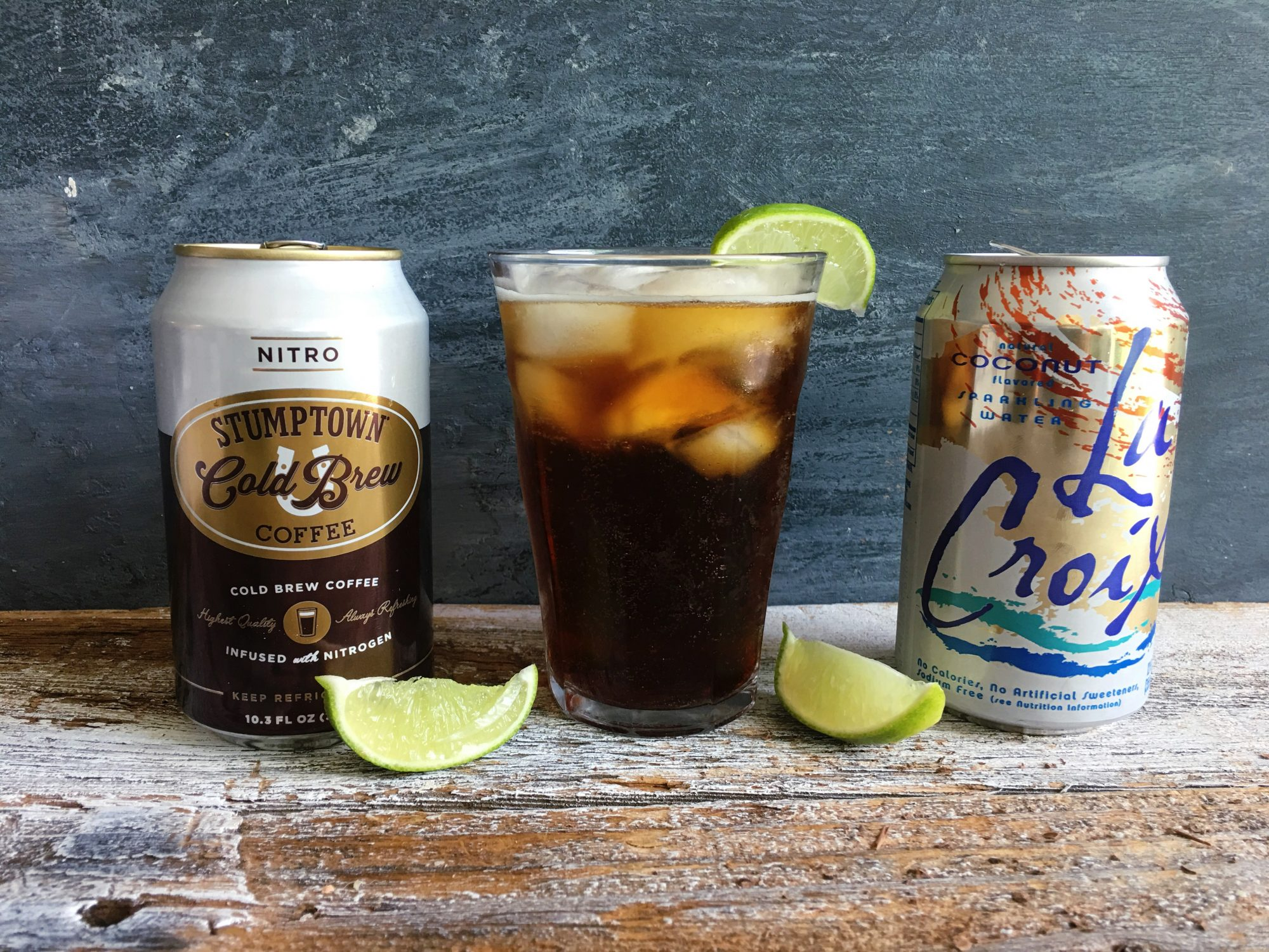 Fizzy Coconut Cold Brew