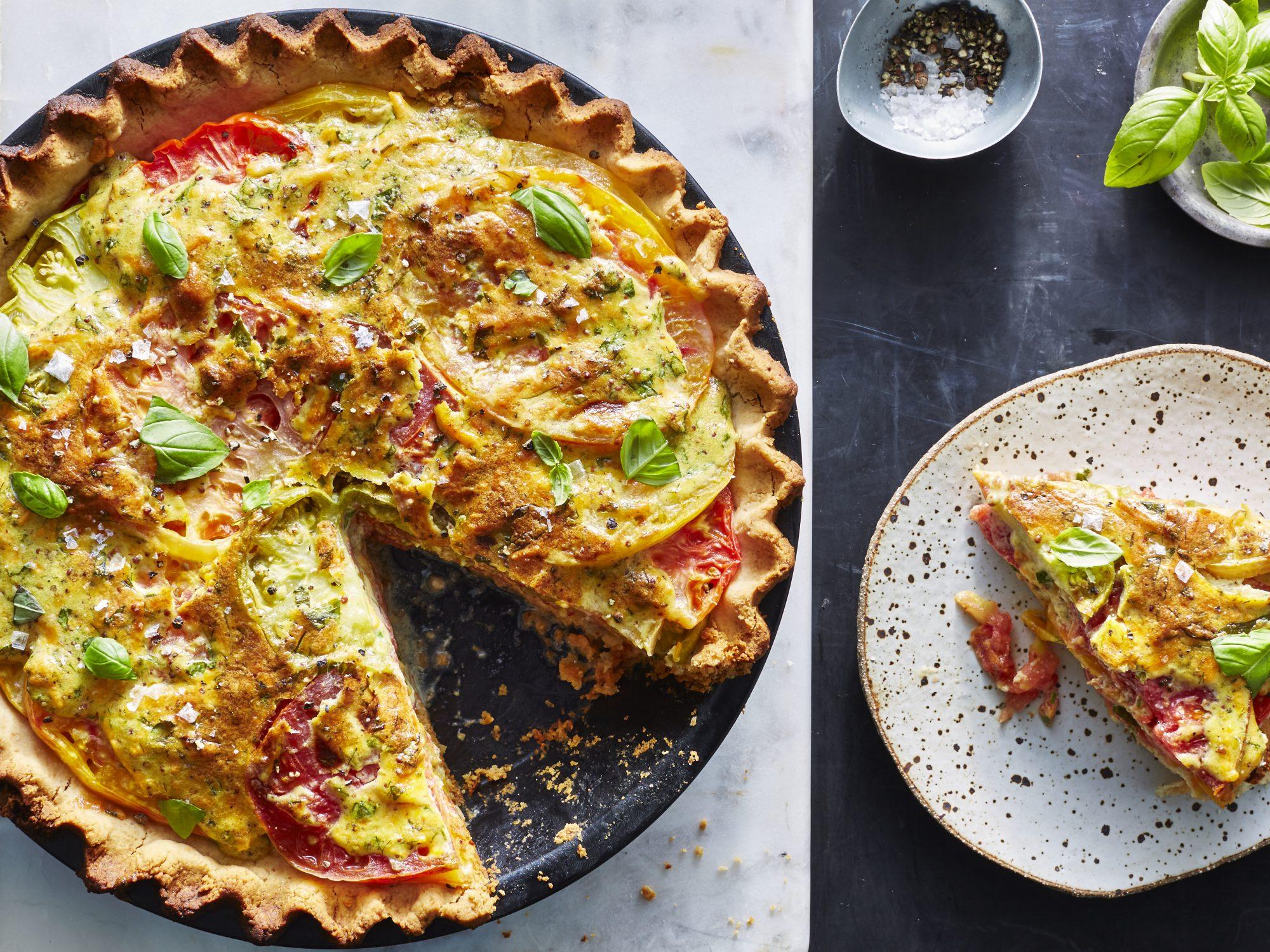 mr- Paleo Southern-Style Tomato Pie image