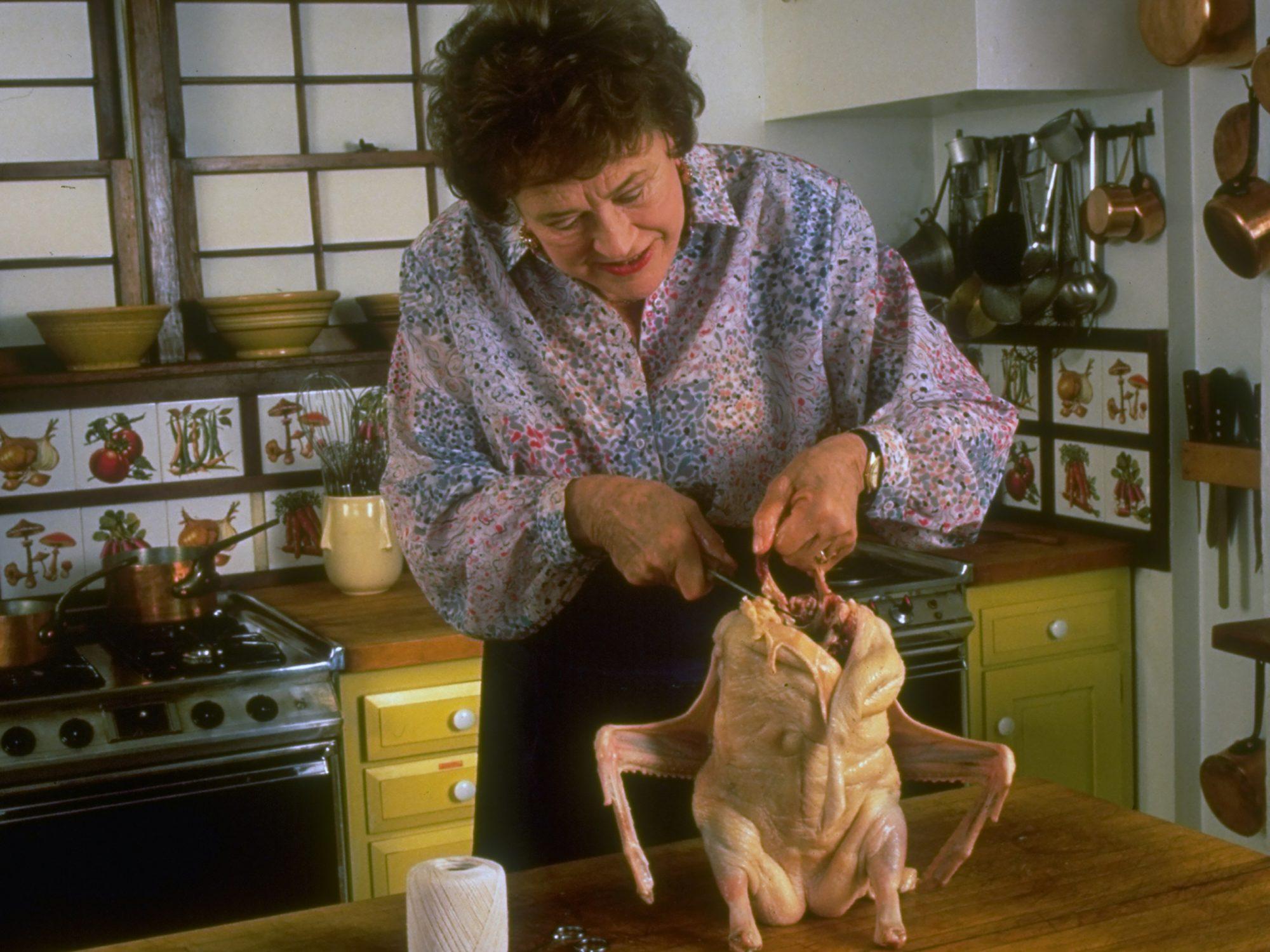Julia Child With Chicken