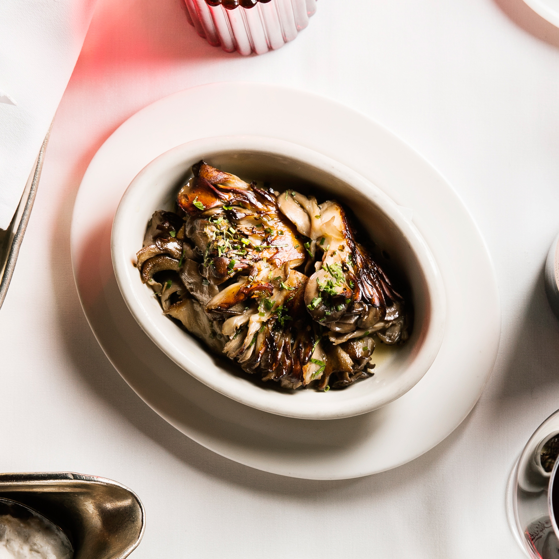 Maitake Mushrooms with Thyme and Sherry