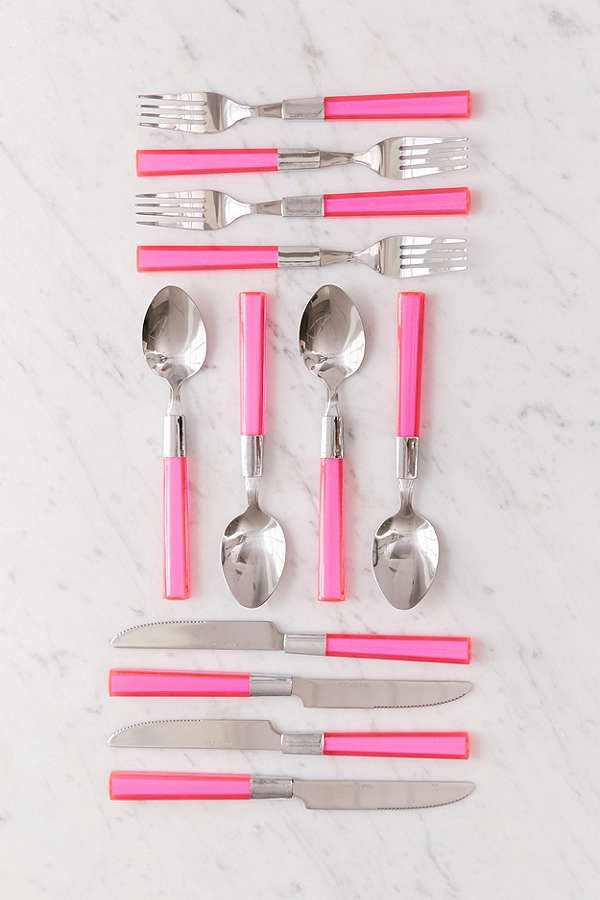 Urban Outfitters Color Flatware