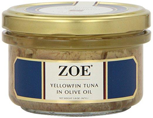 Zoe Yellowfin Tuna in Olive Oil