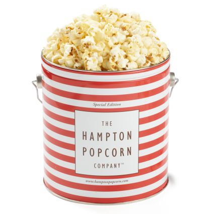 The Hampton Popcorn Co. Sea Salt Kettle Corn Tin