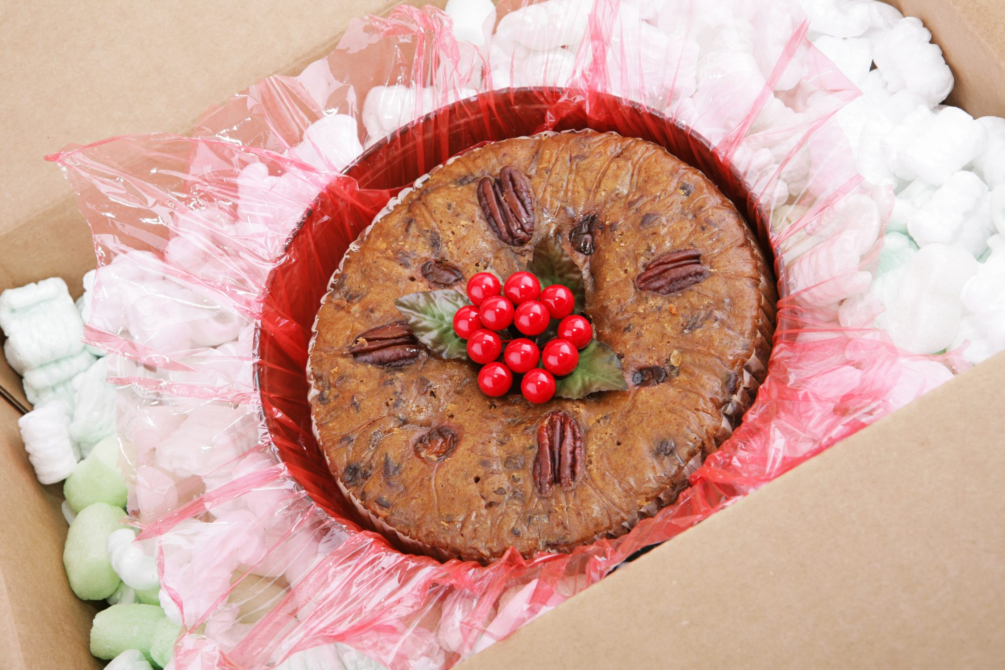 Fruit Cake in Mail