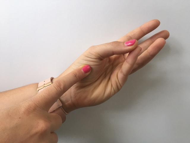 Meat Doneness Finger Test 2