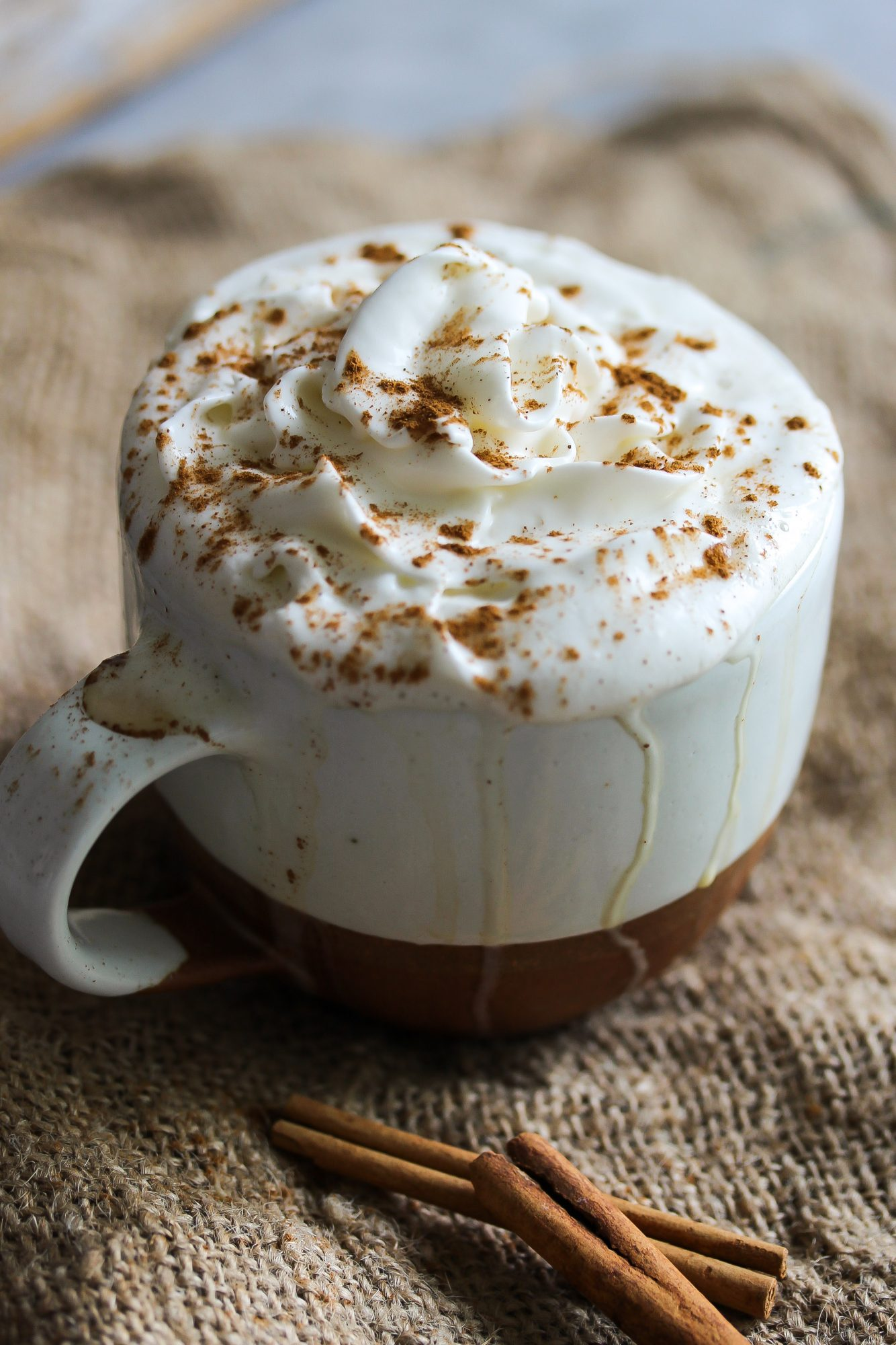 Single-Serving Pumpkin Spice Latte