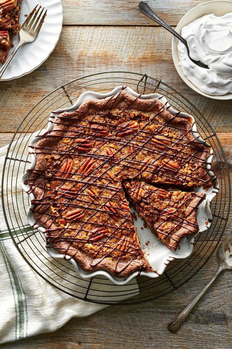 Double-Chocolate Pecan Pie