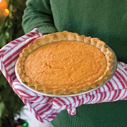 Sweet Potato-Buttermilk Pie