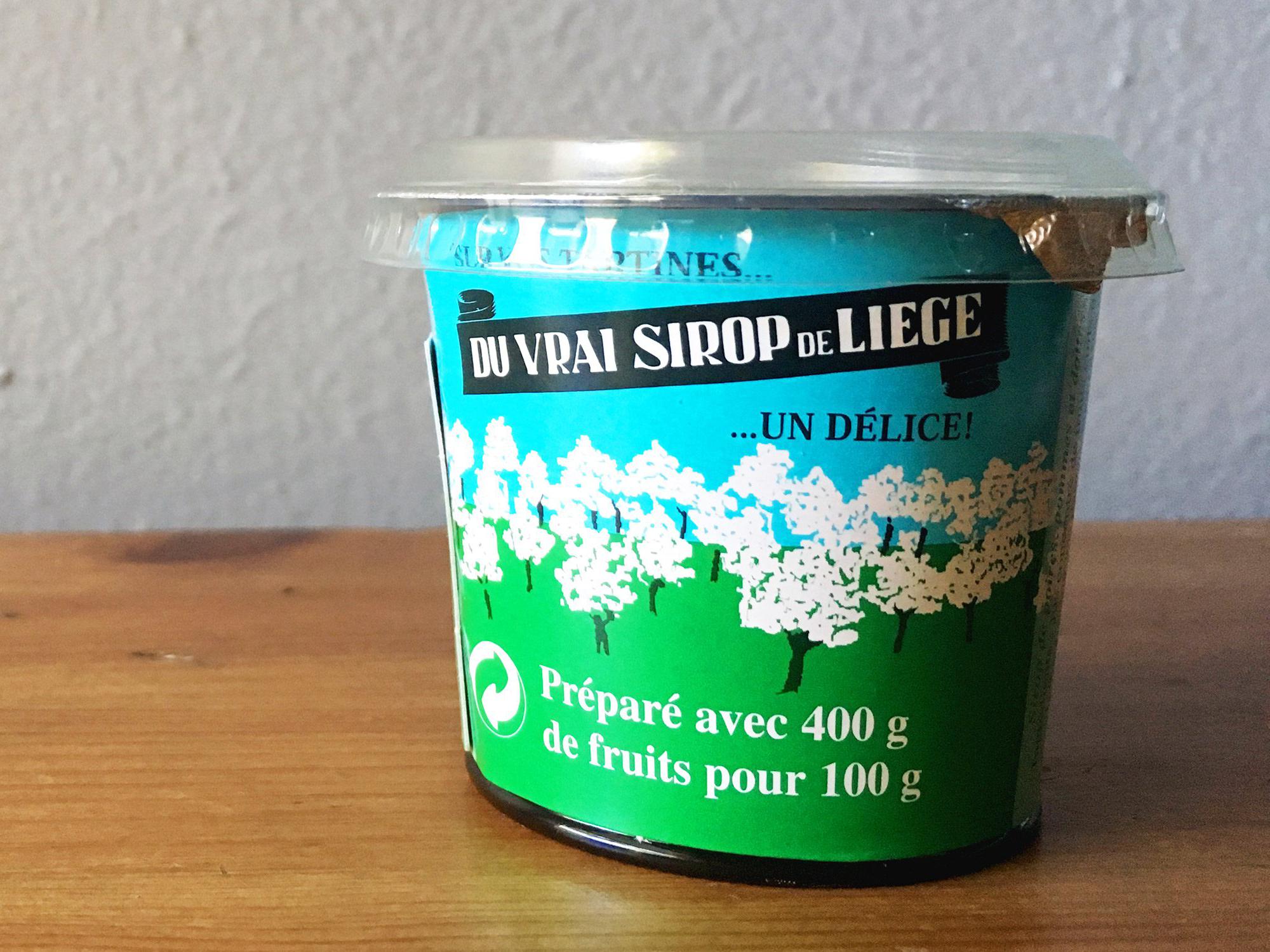 sirop de Liège