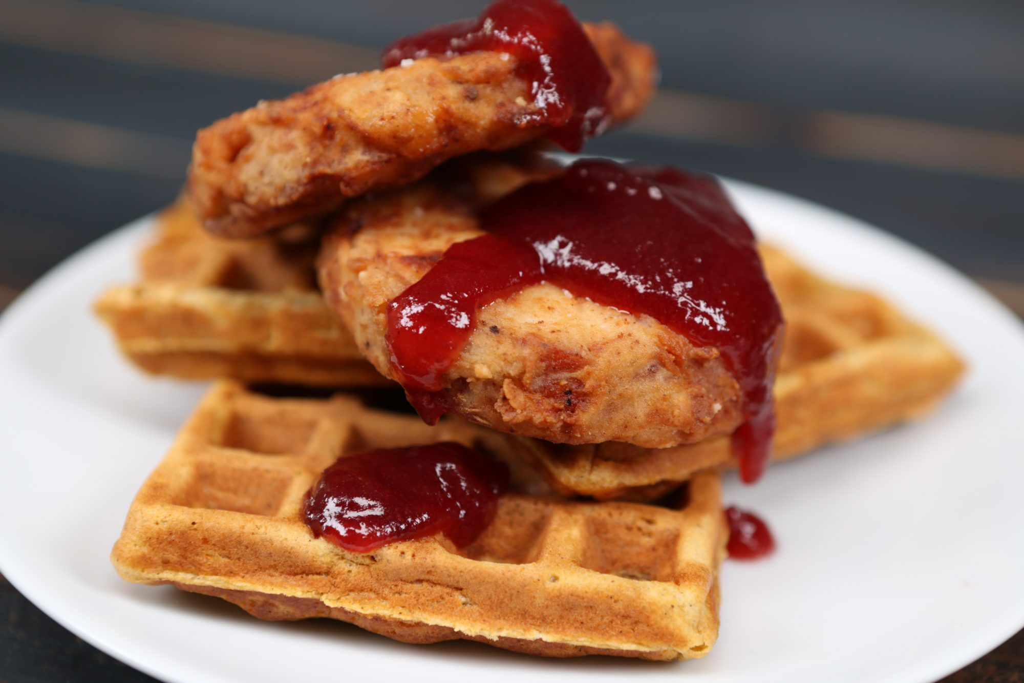 Turkey and Waffles image