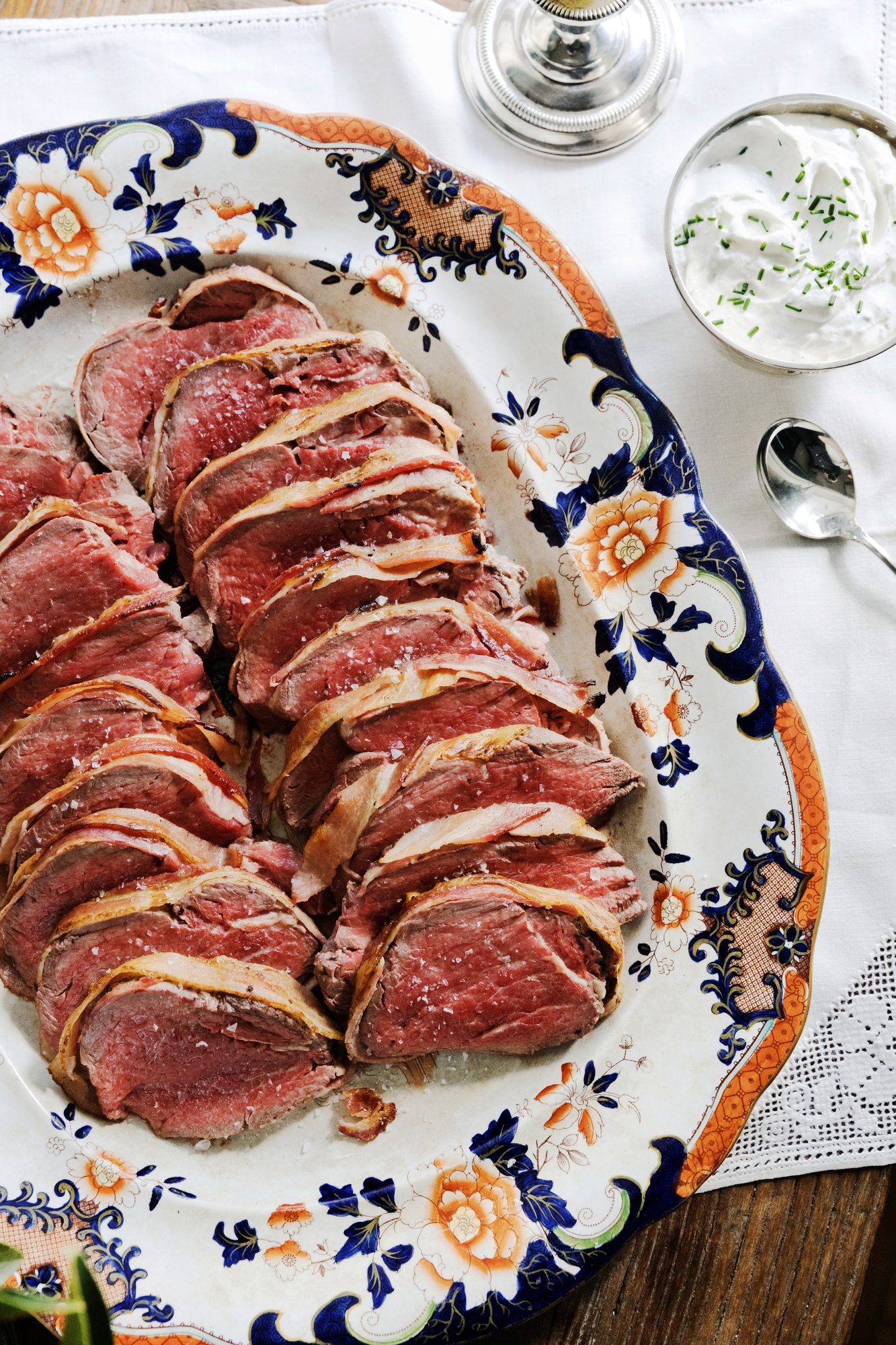 Bacon-Wrapped Fillet of Beef