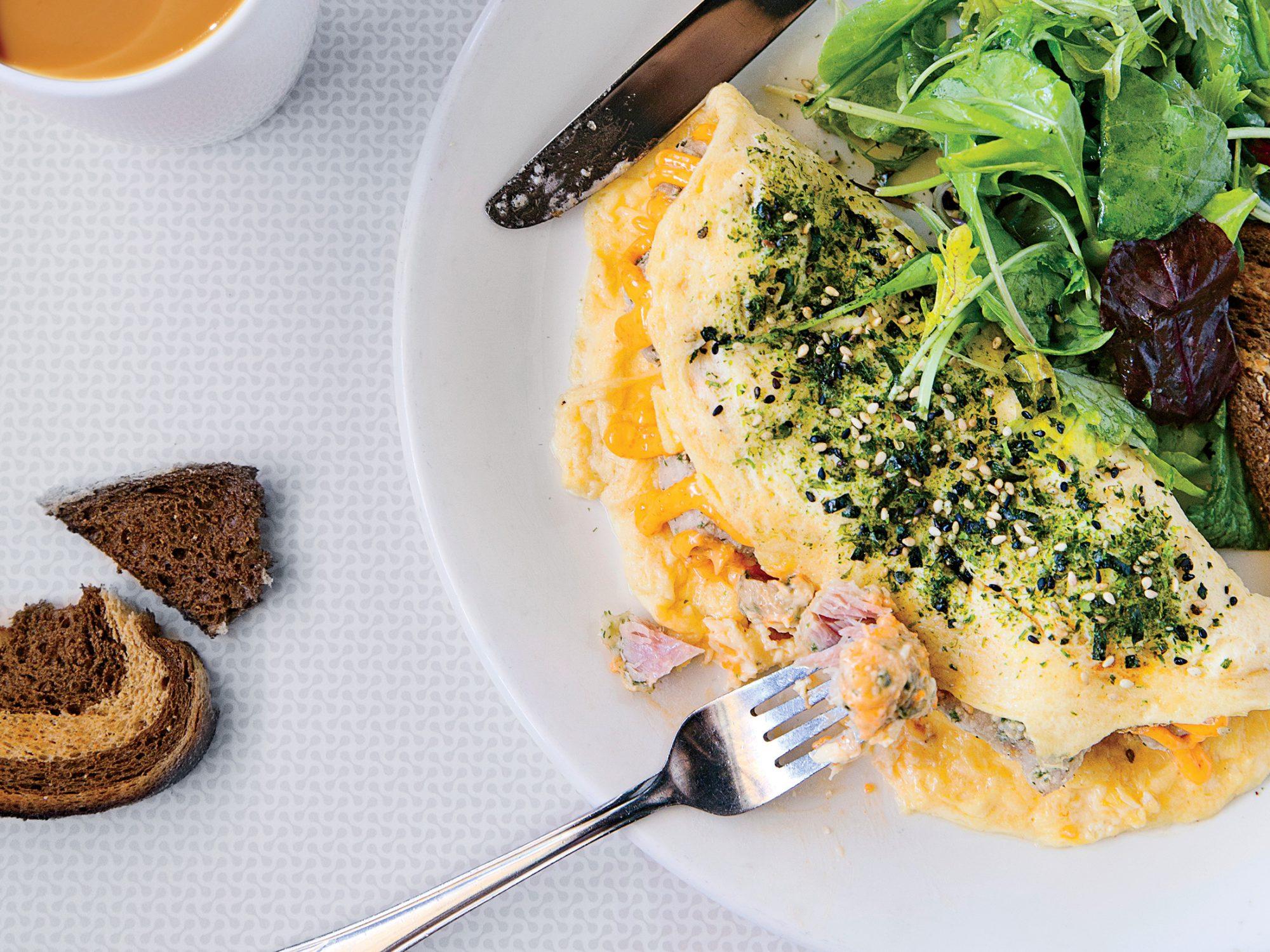 Poke Omelet