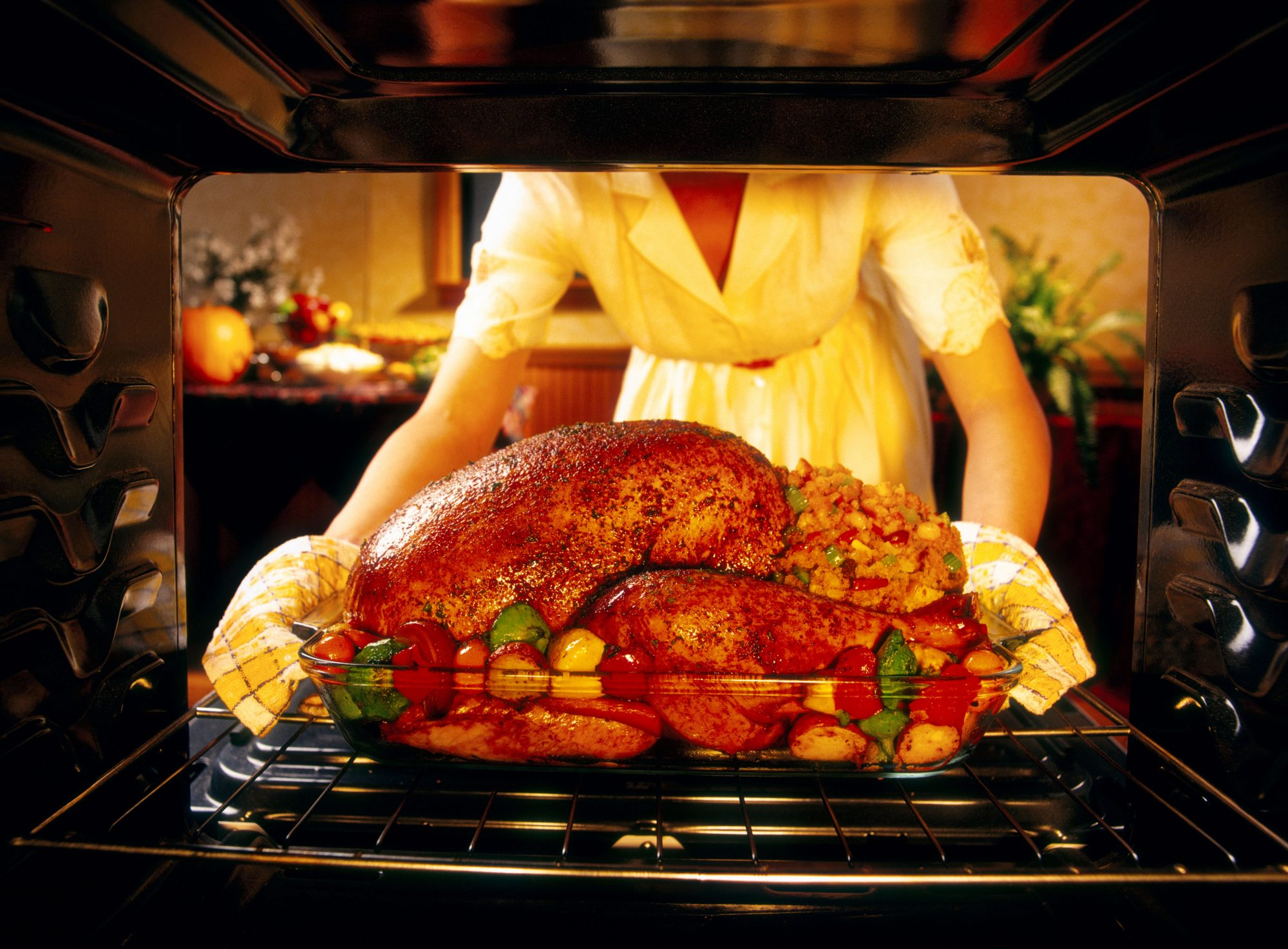 getty holiday cooking image