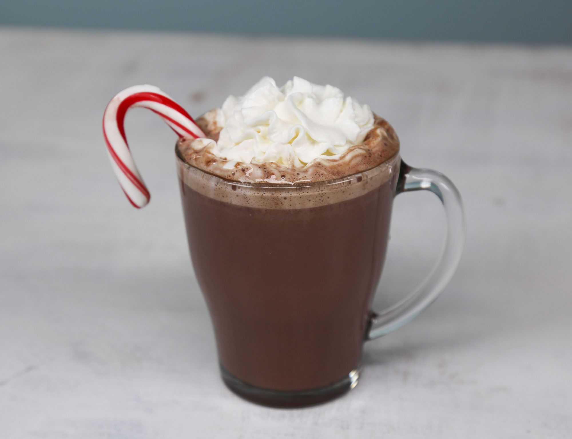 Peppermint Hot Chocolate image
