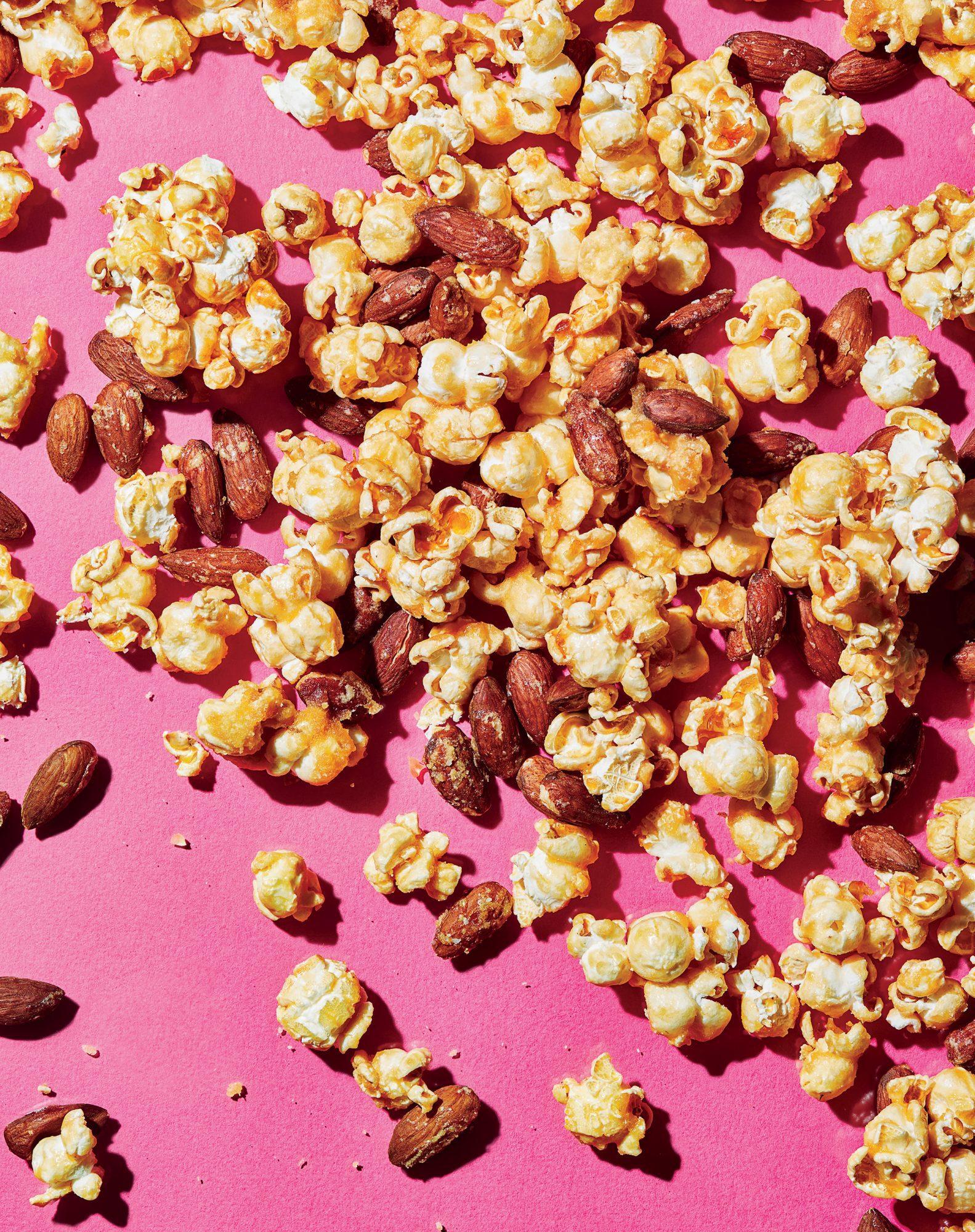 Miso-Caramel-Tamari Popcorn Mix