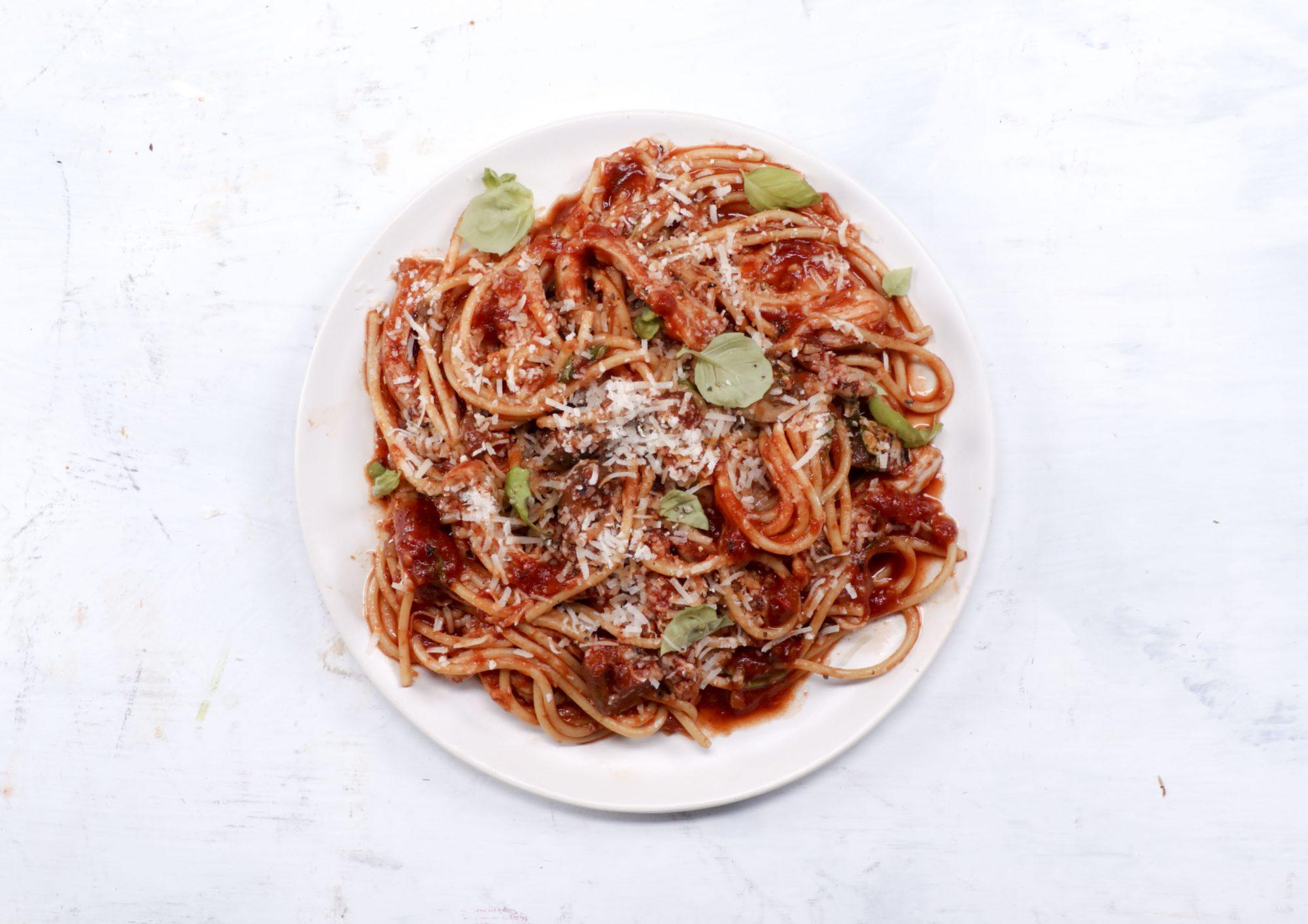 Instant Pot Chicken Spaghetti image