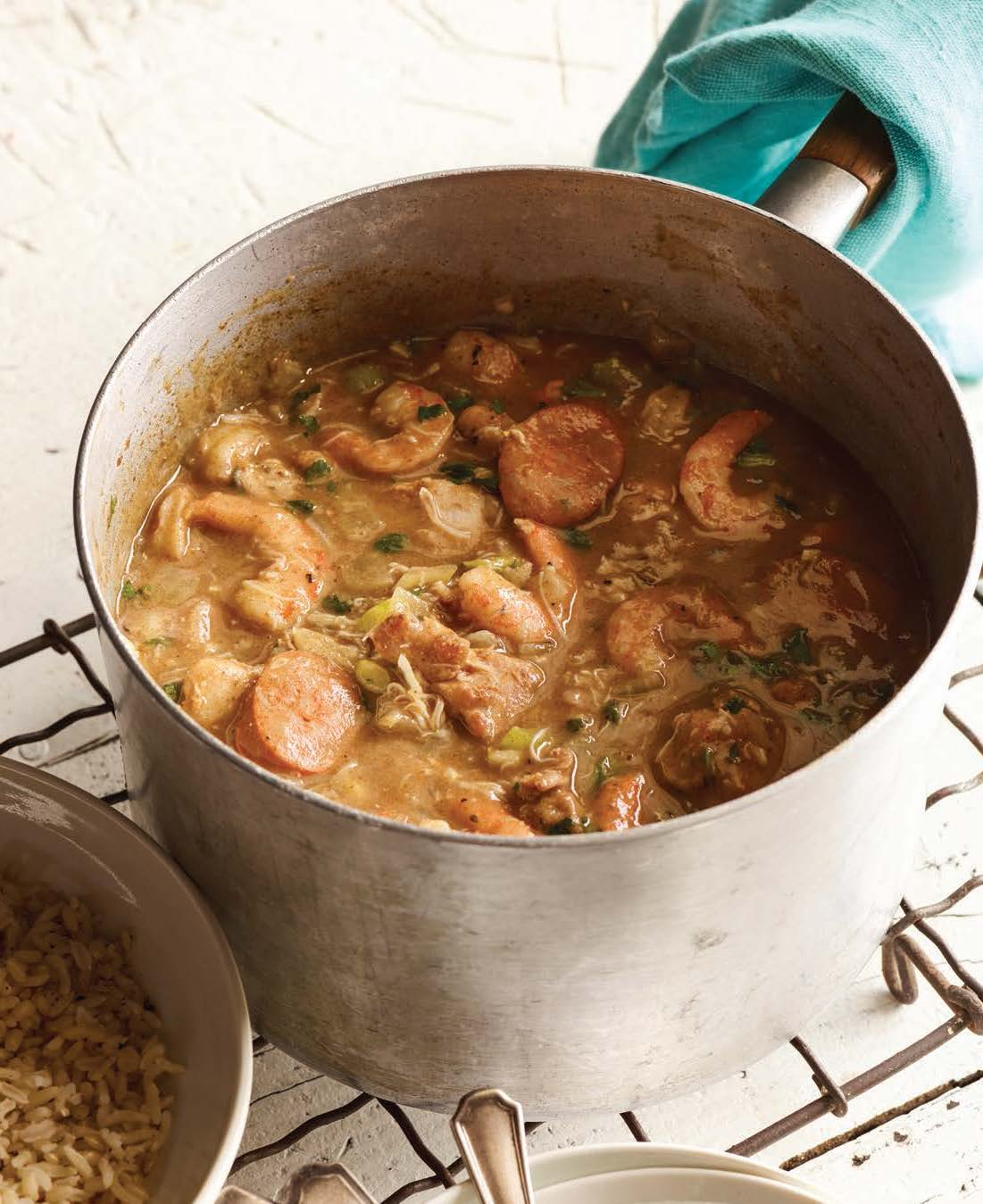 Laila Ali Seafood Gumbo_Image_Food for Life