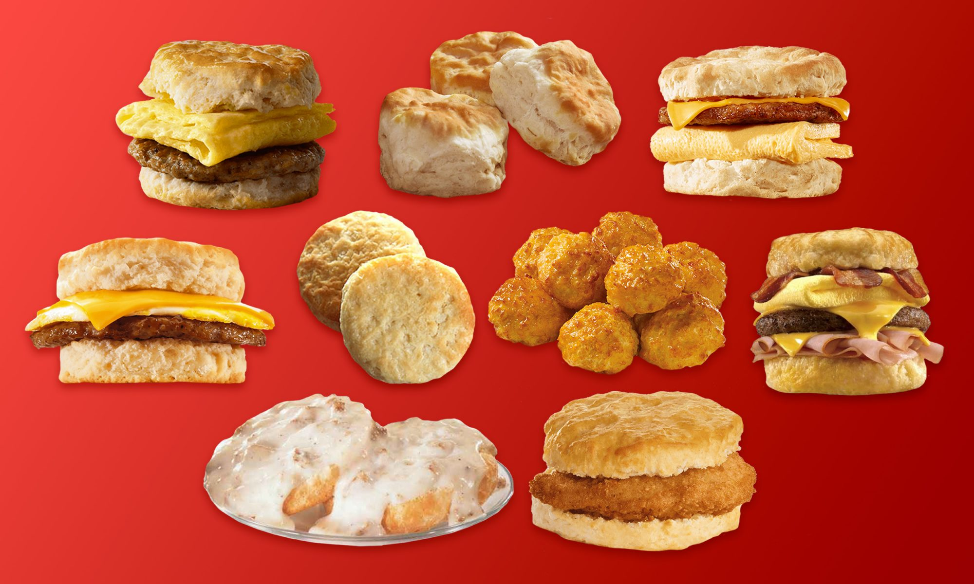 fast food biscuits