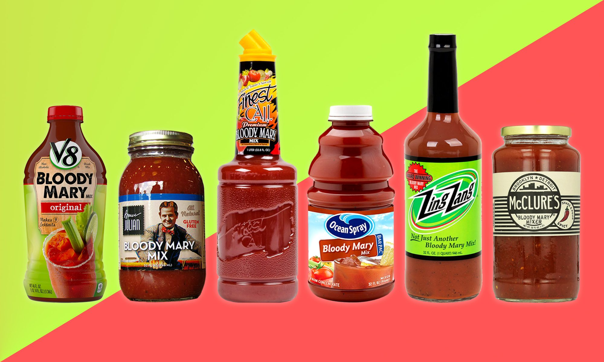 EC: I Tried 11 Store-Bought Bloody Mary Mixes and Here's the Best One