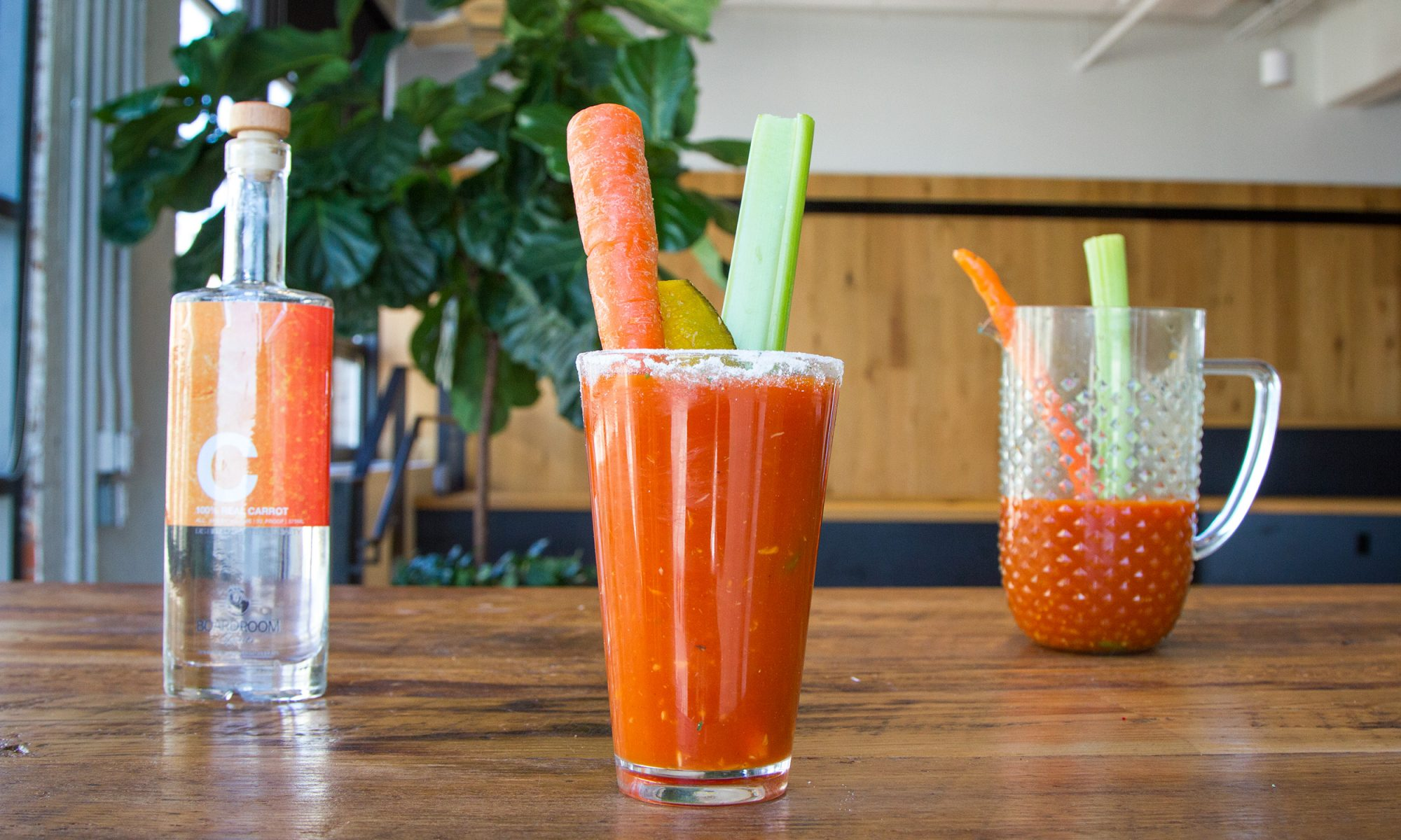 EC: Use Carrot Liquor In Your Bloody Mary for a Crudité Twist
