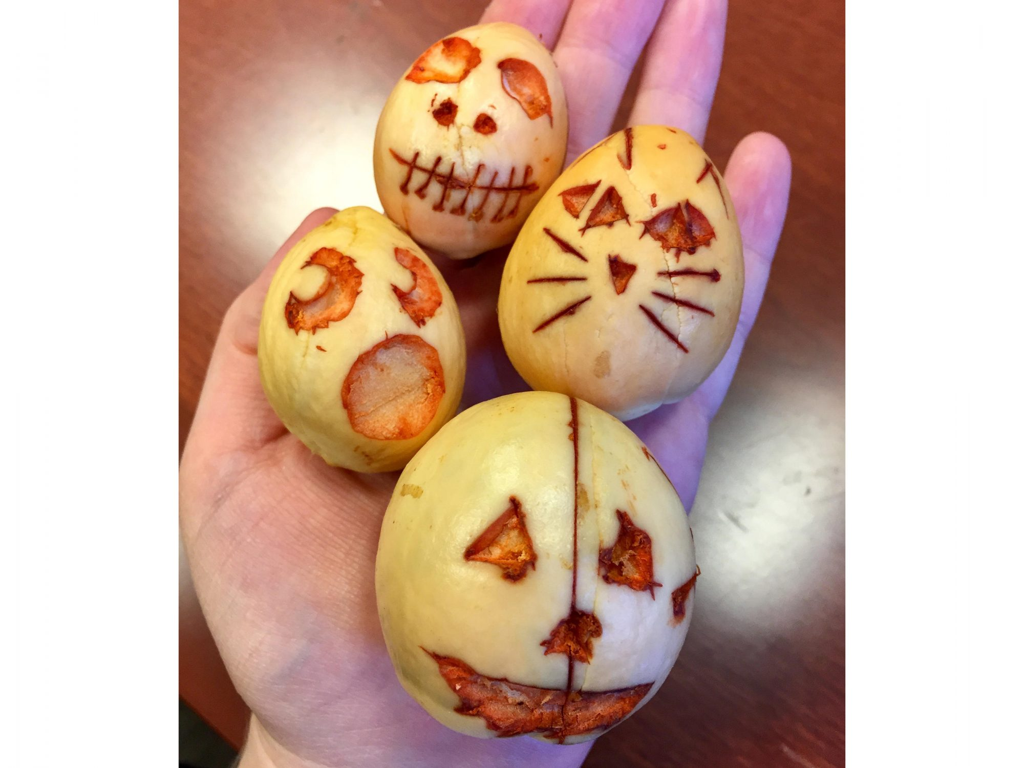 Carved Avocados