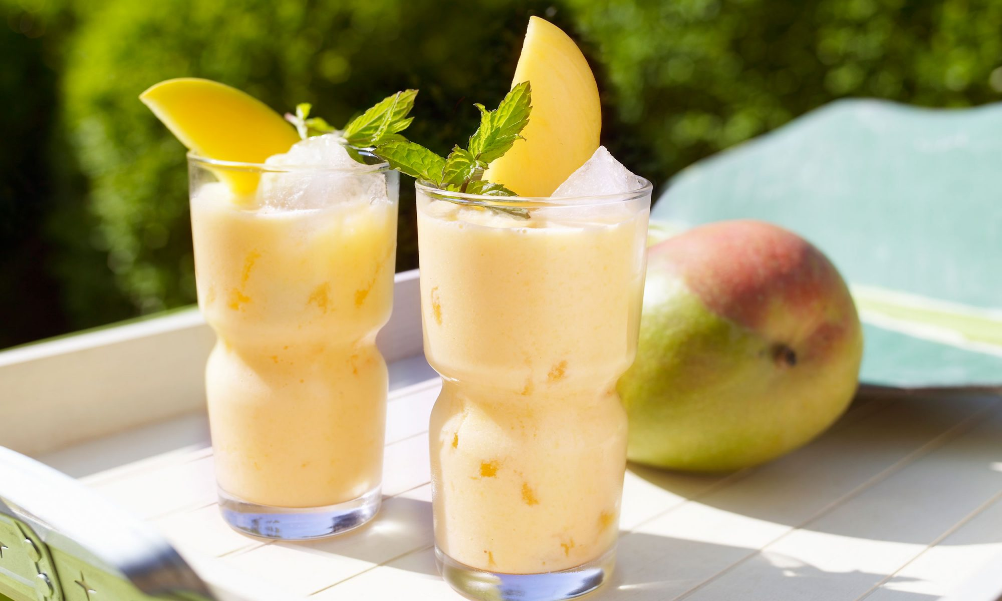 coconut yogurt mango lassi