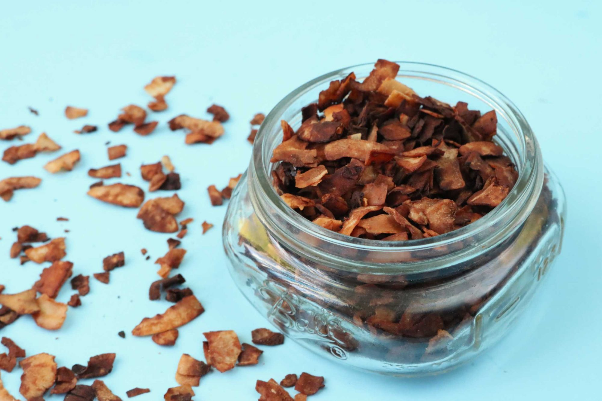 EC: Coconut Bacon Is Certainly Not Bacon but We Love It Anyway