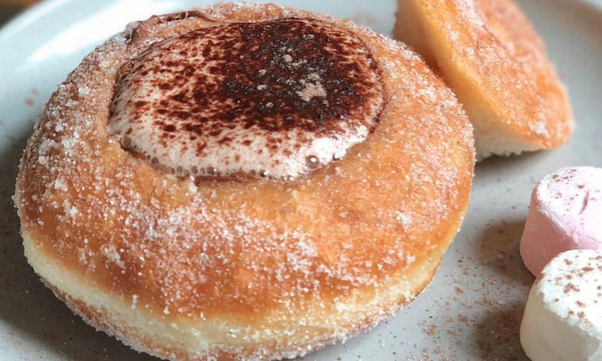 coffee cup doughnut