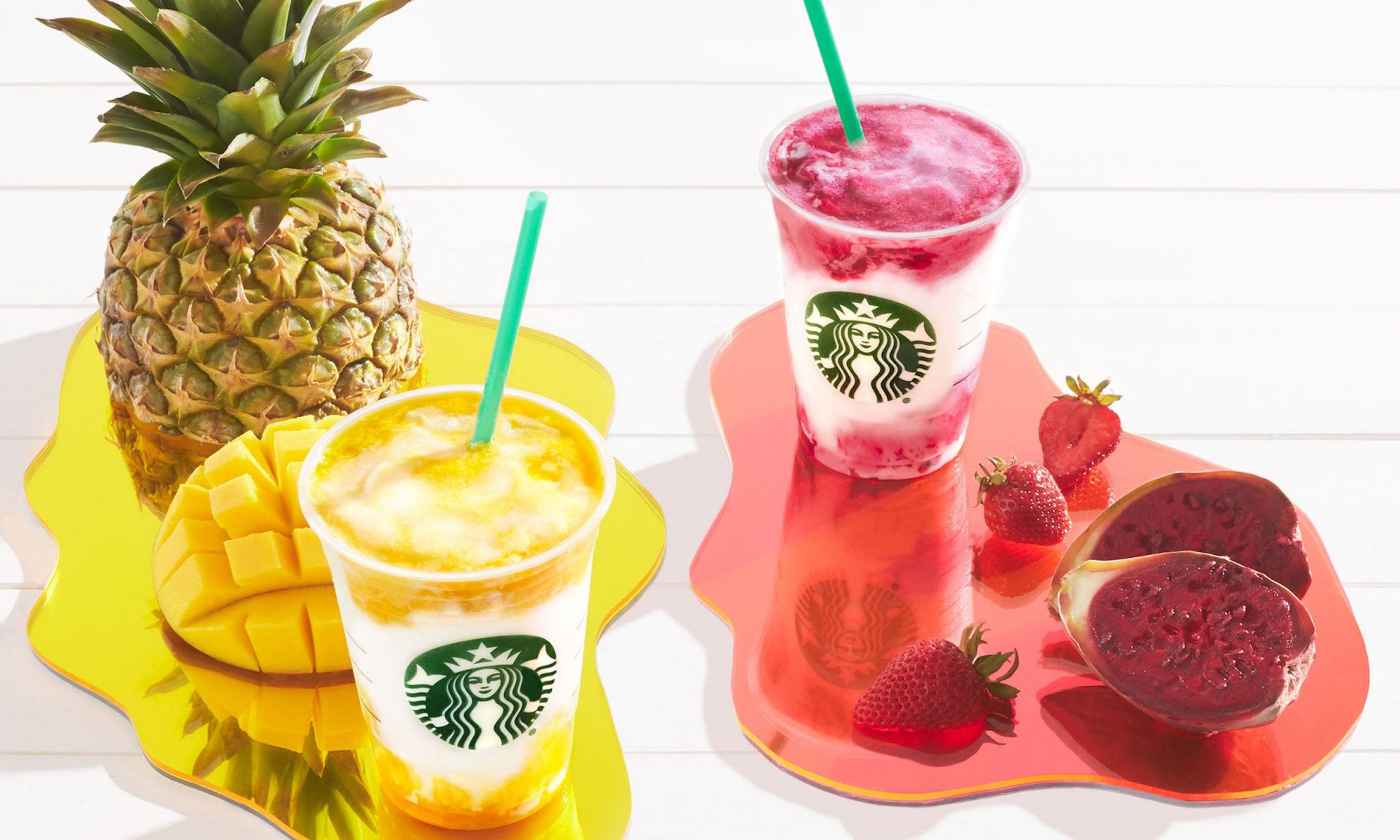 EC: Introducing Starbucks' New Mango Pineapple and Berry Prickly Pear Frappuccinos