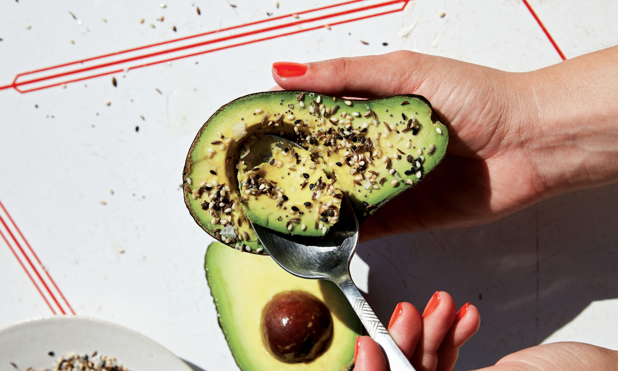 This Everything Seasoning Avocado Is, Well, Everything