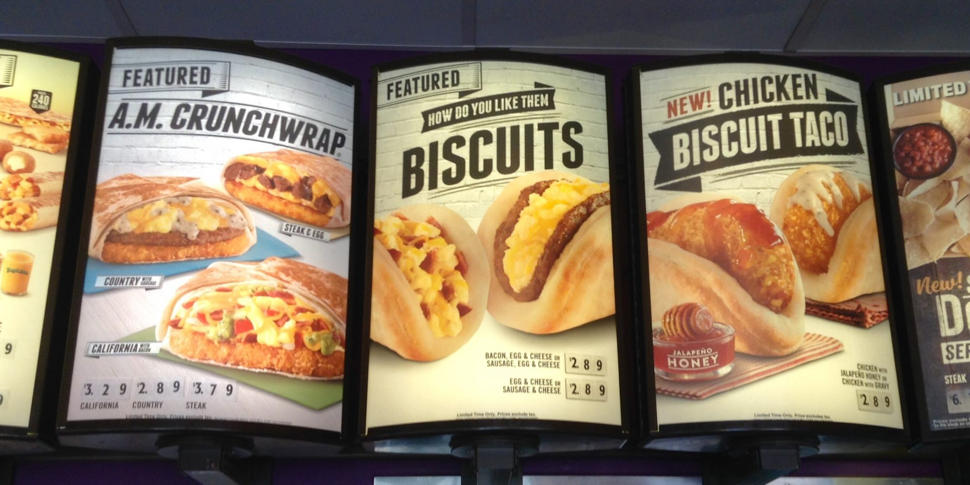 EC: Taco Bell All-Day Breakfast Menu Is Possibly Getting Field Tested