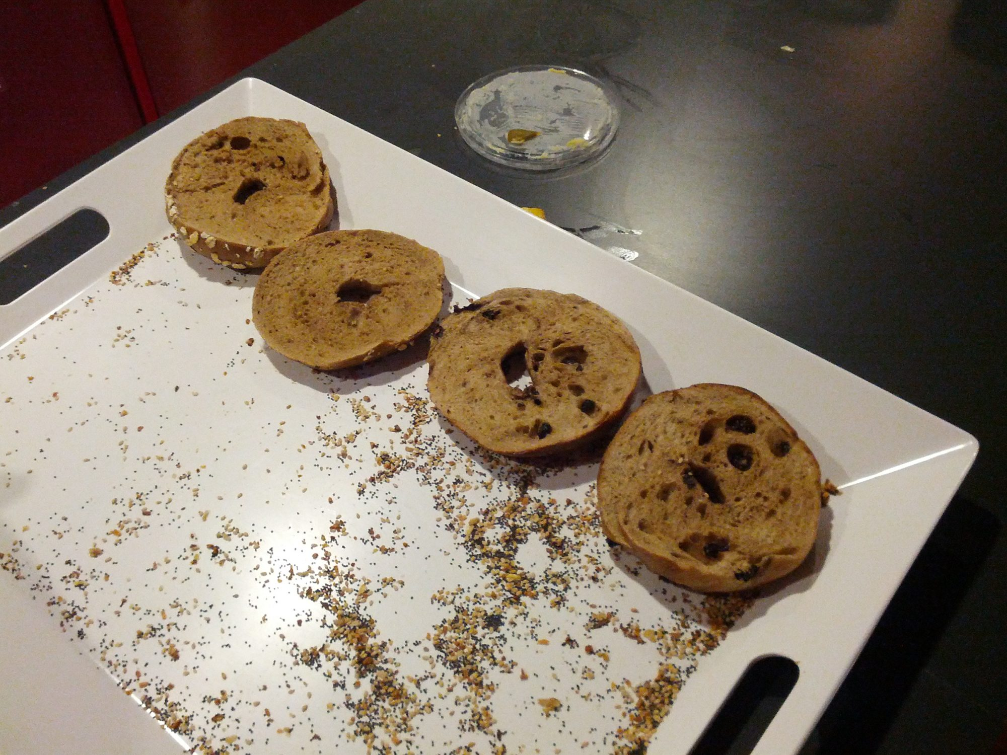 EC: The Particular Joy of the Office Bagel