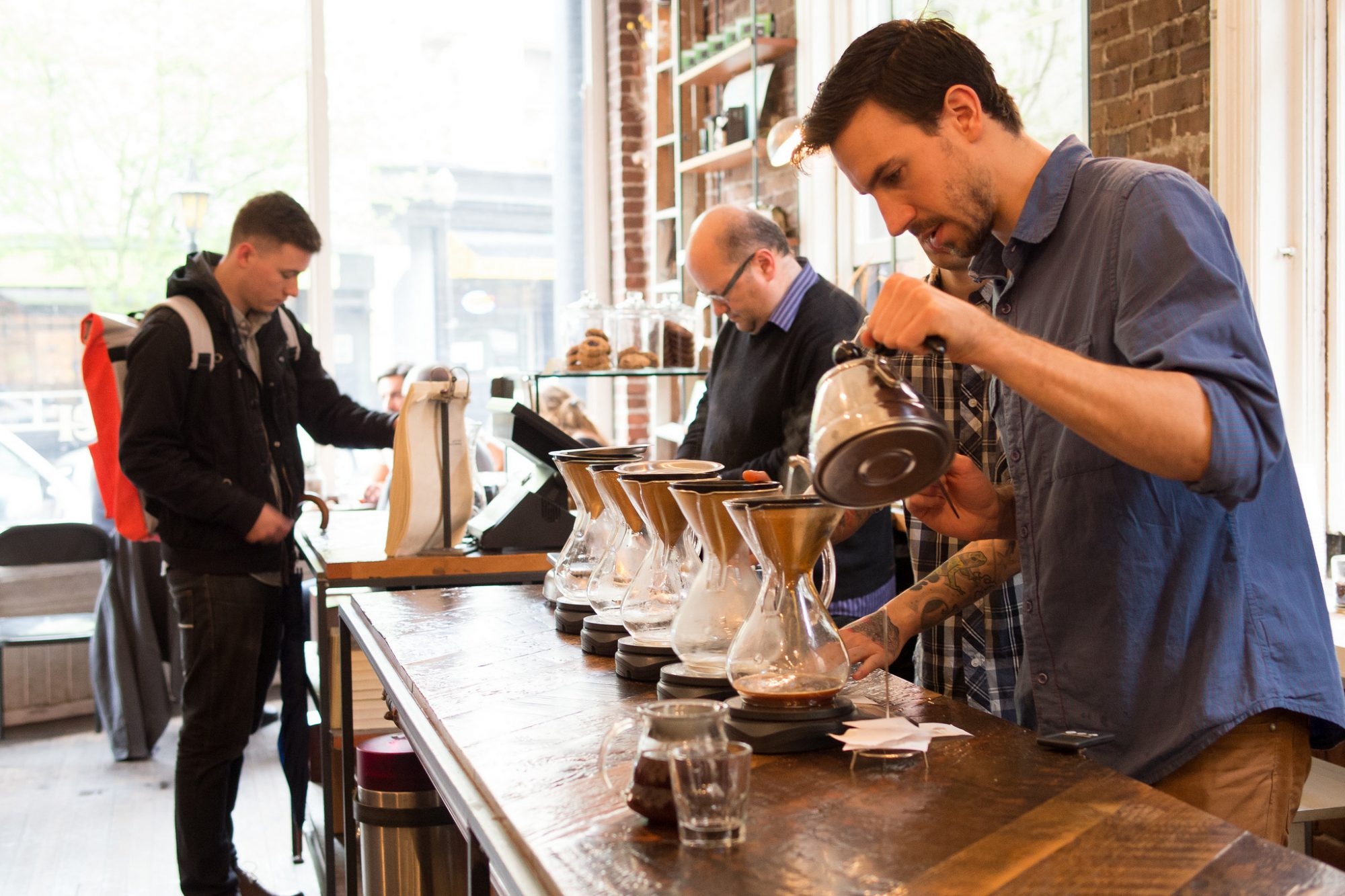 EC: Can You Automate Craft Coffee?