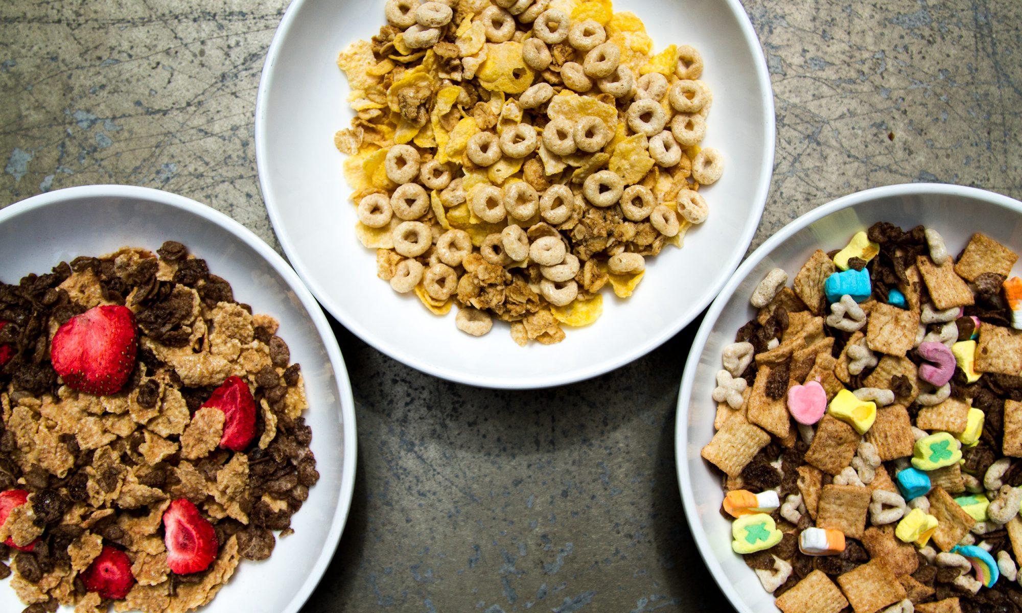 EC: The Delicate Art of Cereal Frankensteining