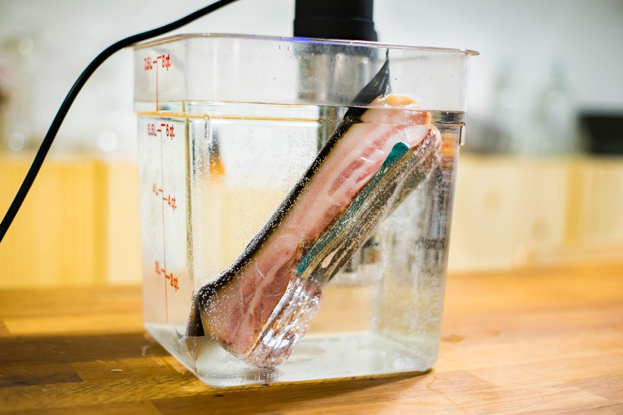 EC: Sous Vide Bacon Is Crispy and Tender at the Same Time