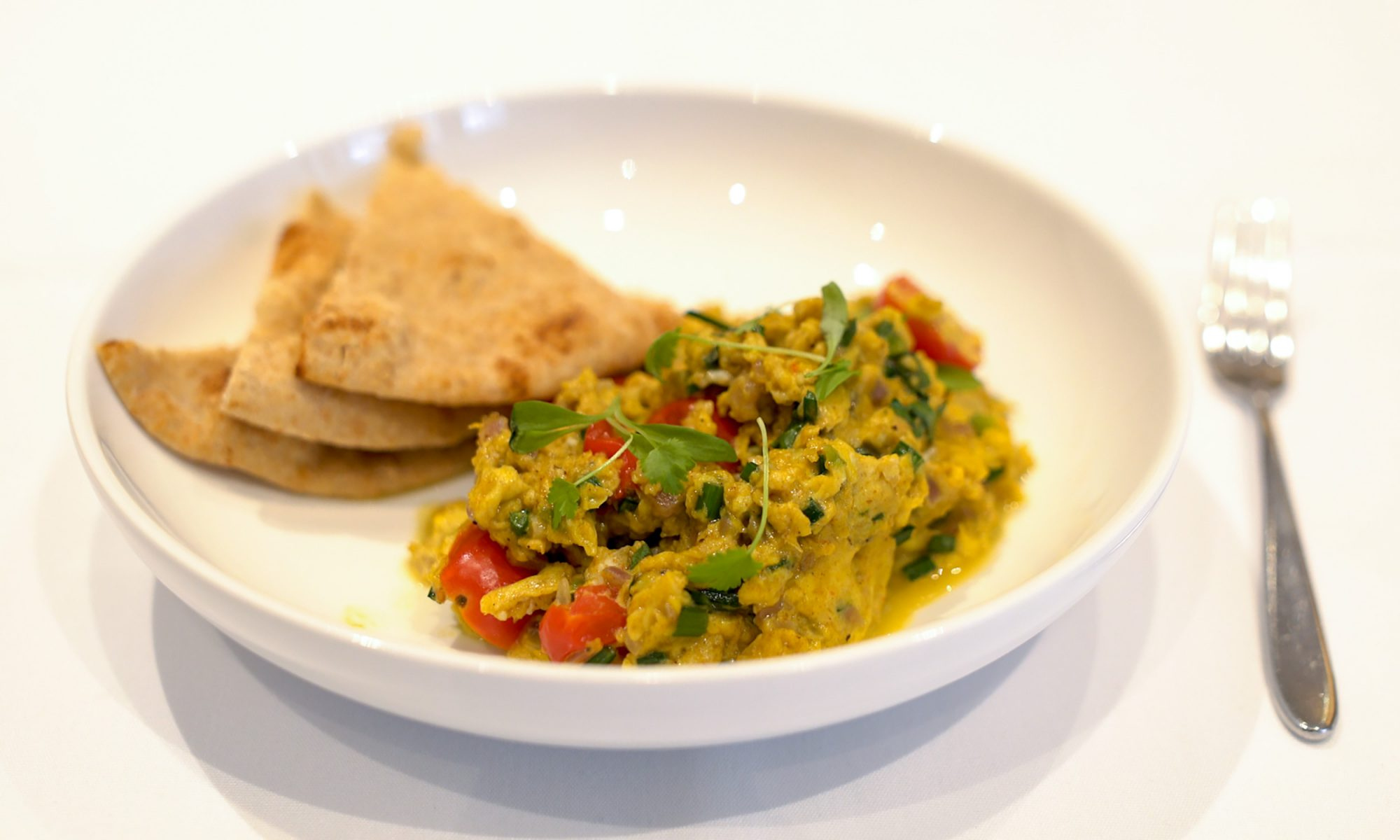 EC: Anita Lo's Chinese-Indian Scrambled Eggs