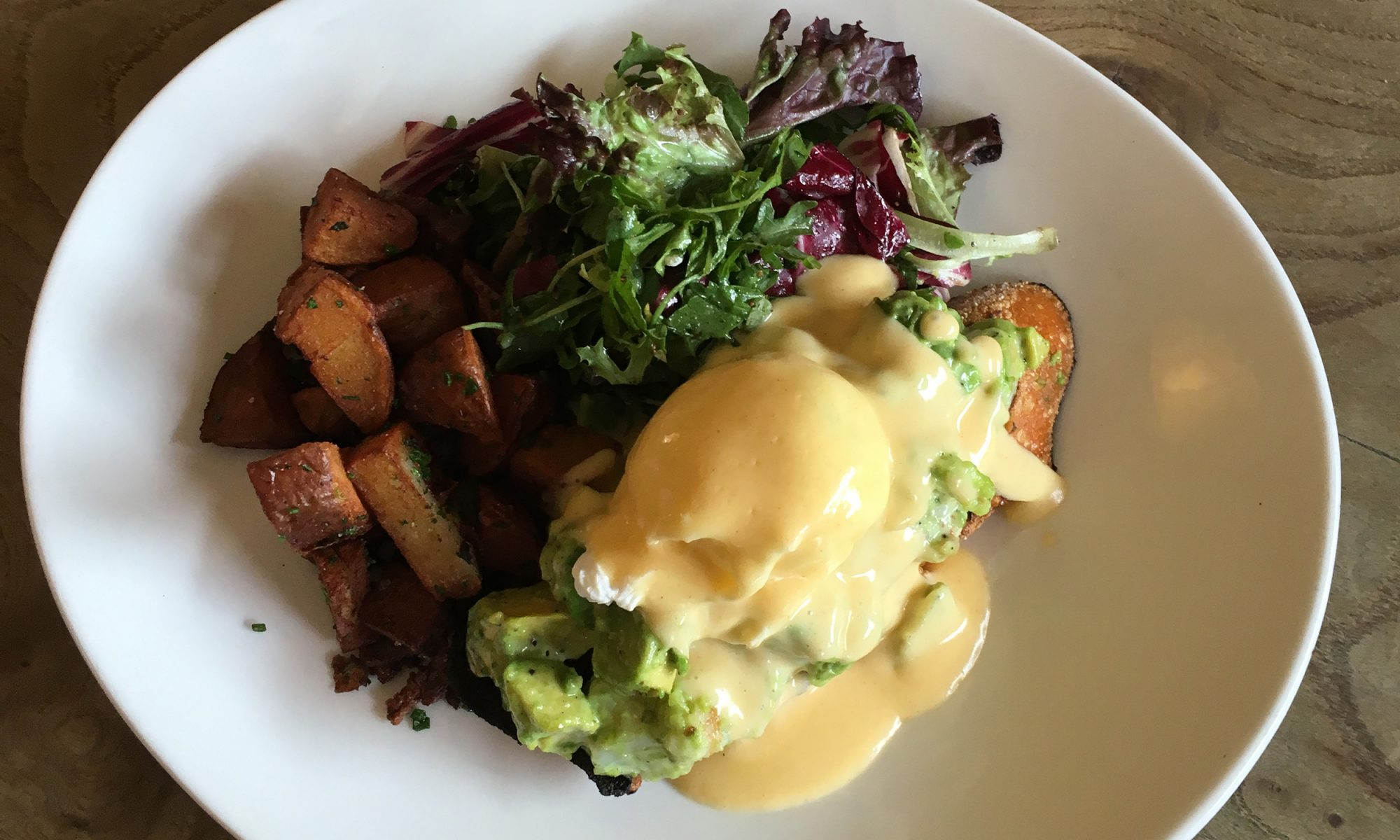 An Avocado Eggs Benedict Recipe Straight from Napa Valley